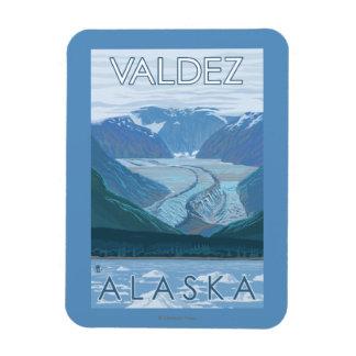 Glacier Scene - Valdez, Alaska Magnet