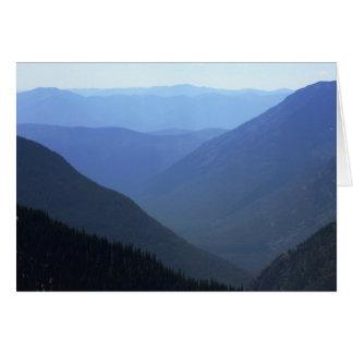 Glacier Shades of Blue Note Card