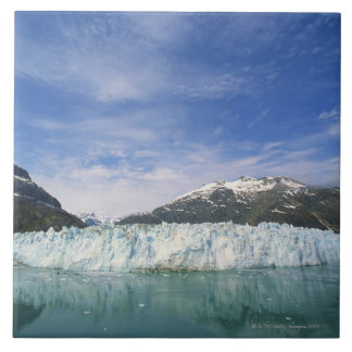 Glaciers and mountain ceramic tile