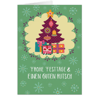 Glad holidays card