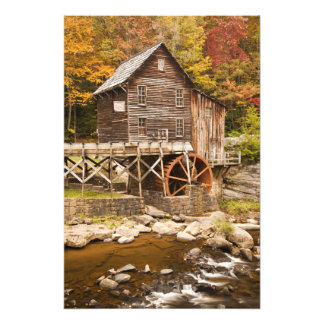 Glade Creek Grist Mill, Babcock State Park, 2 Photo Print