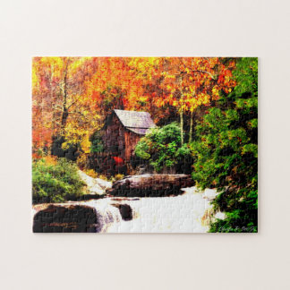 Glade Creek Grist Mill Puzzle
