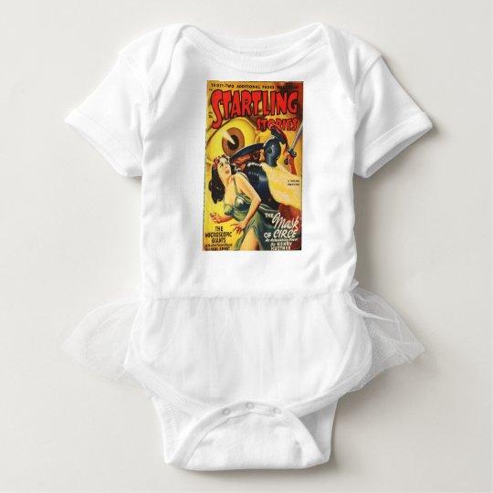 Gladiator Fights an Eyeball Baby Bodysuit