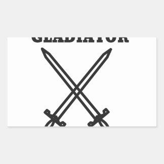 Gladiator Rectangular Sticker