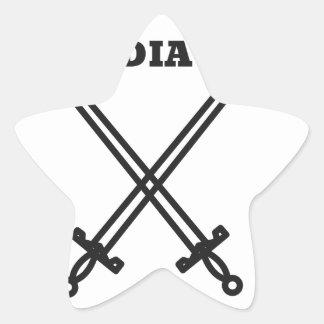 Gladiator Star Sticker