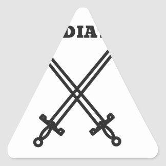 Gladiator Triangle Sticker