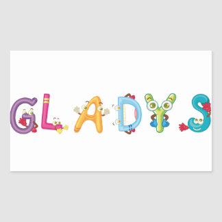 Gladys Sticker