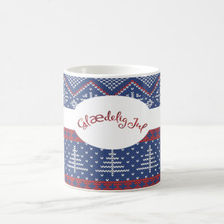 Glaedelig Jul Christmas Sweater Knit Coffee Mug