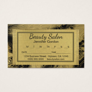 Glam Appointment Reminder Card