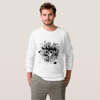Glam Boom Bang Dark Paint Splat Sweatshirt