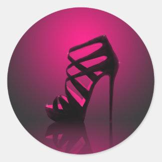 Glam Fashion Shiny High Heels Sticker
