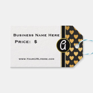 Glam Gold Heart Monogrammed Price
