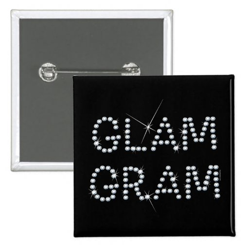 Glam Gram Pinback Buttons