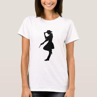 Glam Gun Girl Cowgirl T-Shirt