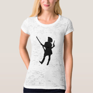 Glam Gun Girl - Cowgirl with Rifle T-Shirt