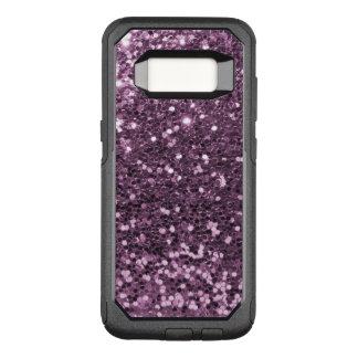 Glam Lavender Faux Glitter Purple Print OtterBox Commuter Samsung Galaxy S8 Case