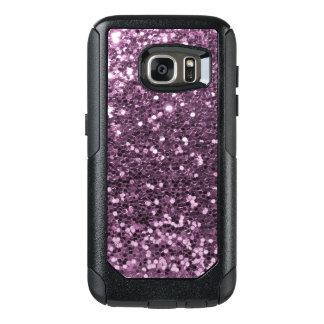 Glam Lavender Faux Glitter Purple Print OtterBox Samsung Galaxy S7 Case