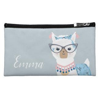 Glam Llama Cosmetic Bag