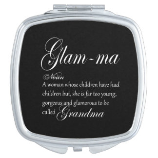 GLAM MA grandma definition Mirrors For Makeup