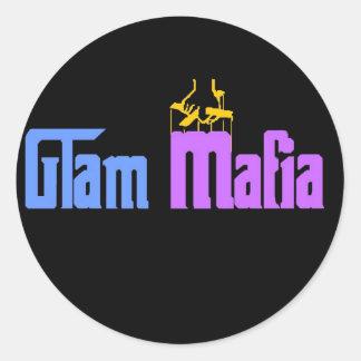 Glam Mafia Round Sticker