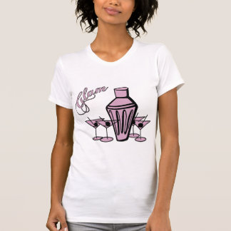 Glam Martini Mix - Pink T-Shirt