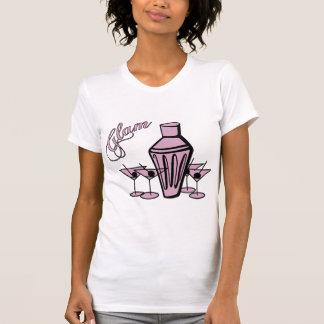 Glam Martini Mix - Pink Tee Shirt