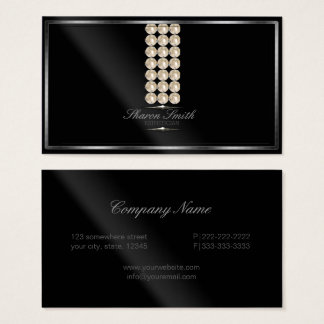 Glam Pearls Effect ID314 Business Card