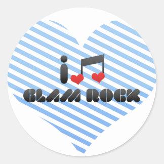 Glam Rock Sticker