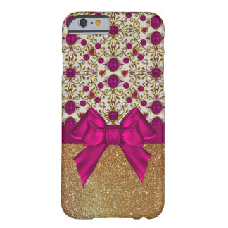 Glam Rubies and Gold iPhone 6 Case