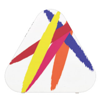 Glamgift Triangle Speaker Colored Squibles