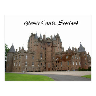 Glamis Castle Post Card