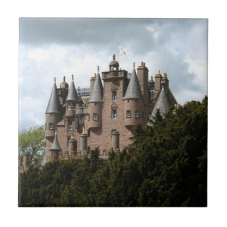 Glamis Castle Small Square Tile