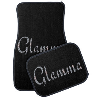 Glamma bling car floor mats