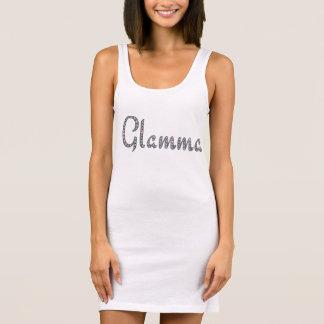 Glamma bling design sleeveless dress