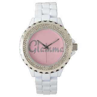 Glamma bling wristwatch