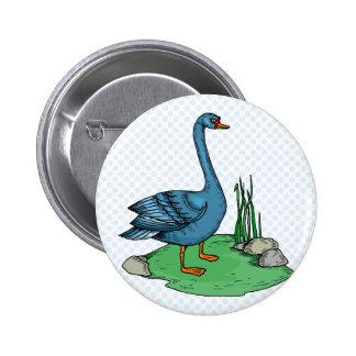 Glamma Goose Button