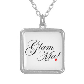 GlamMa Silver Plated Necklace