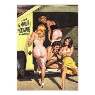 glamor girls card