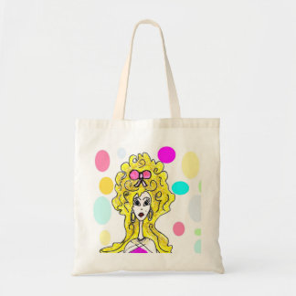Glamorous Big Hair Lady Bag