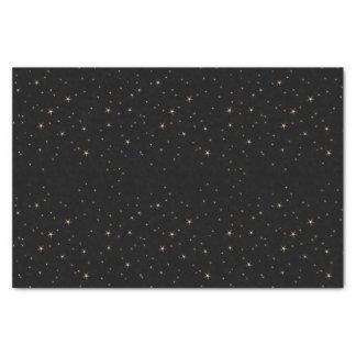 Glamorous Gold Stars (dark) Tissue Paper