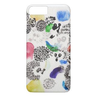 glamorous hedgehog iPhone 8 plus/7 plus case