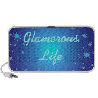 Glamorous Life Doodle iPhone Speaker