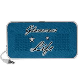 Glamorous Life Stars Doodle Travelling Speakers