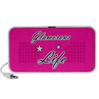 Glamorous Life Stars Doodle Portable Speaker
