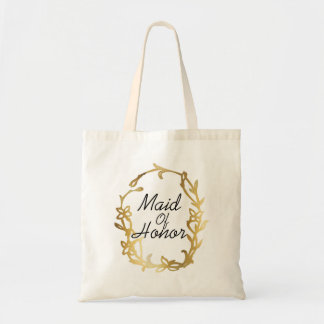 Glamorous Maid of Honor | Gold | Wedding bag