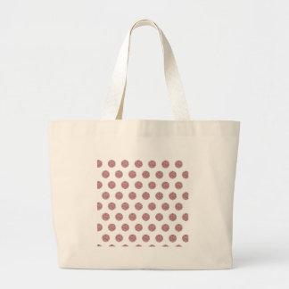 Glamorous Pink Poka Dots Tote Bag