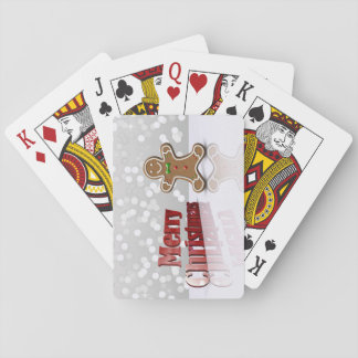 Glamour Gingerbread Christmas Man - Card Deck