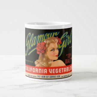 Glamour Girl California Vegetables Vintage Crate L Jumbo Mug
