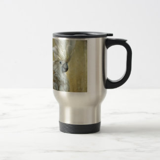 Glamour Girl Cockatoo by Lois Bryan Travel Mug