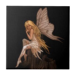 Glamour Girl Fairy Ceramic Tile